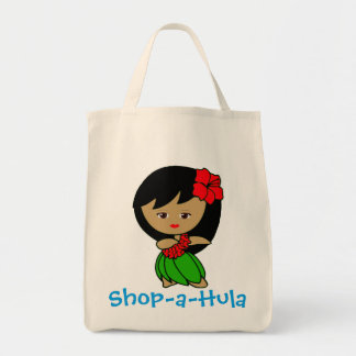 Shop-a-Hula Tote Bag