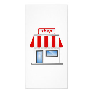 Shop Building Customized Photo Card