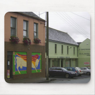 Shop (For Sale) With Decorative Window Painting At Mousepads