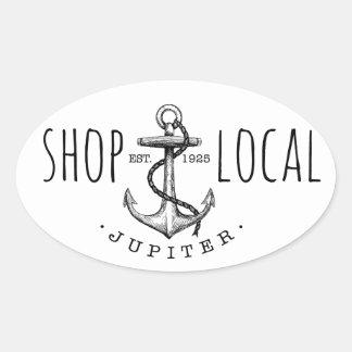 Shop Local Jupiter Sticker