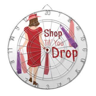 Shop Til Drop Dartboard With Darts