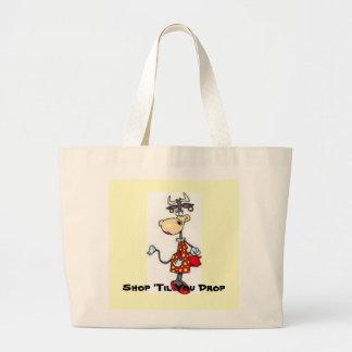 , Shop 'Til You Drop Jumbo Tote Bag
