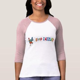 Shop ZAZZLES Raglin Sleeved T-Shirt