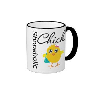 Shopaholic Chick 1 Coffee Mugs