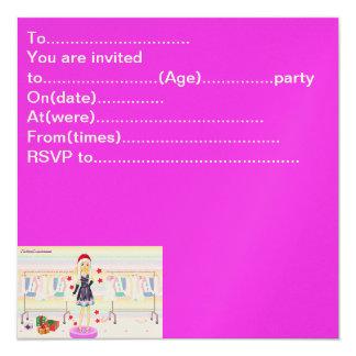shopaholicChristmas, To........................... 13 Cm X 13 Cm Square Invitation Card