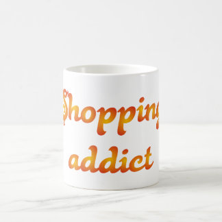 shopping addict purchase-addicted coffee mug