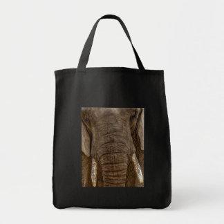 Shopping bag elephant - purchase stock market