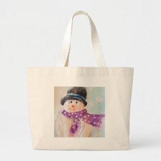 Shopping bag Snow Man