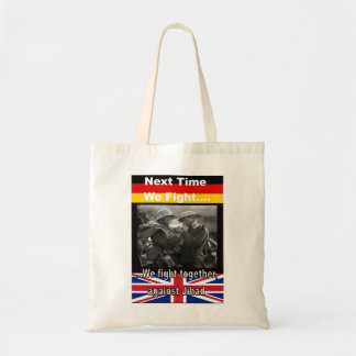 Shopping bag with British and German WWI soldiers