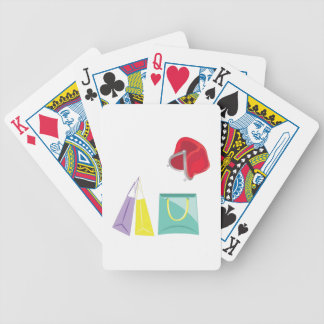 Shopping Bicycle Playing Cards