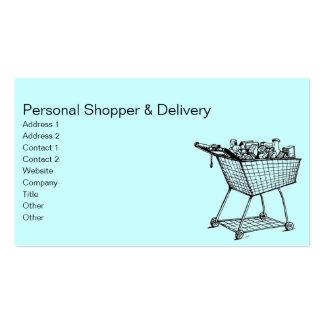 Shopping Cart Business Card Template