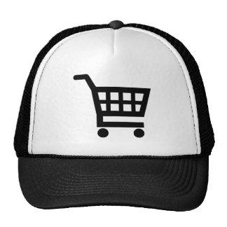 Shopping cart cap