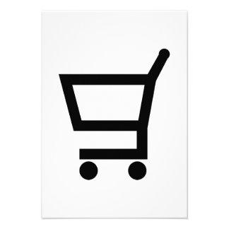 Shopping cart announcements