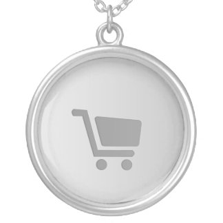Shopping Cart Necklace