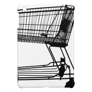 Shopping Cart Silhouette iPad Mini Cases