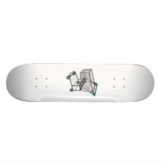 Shopping Cart Skateboard Deck