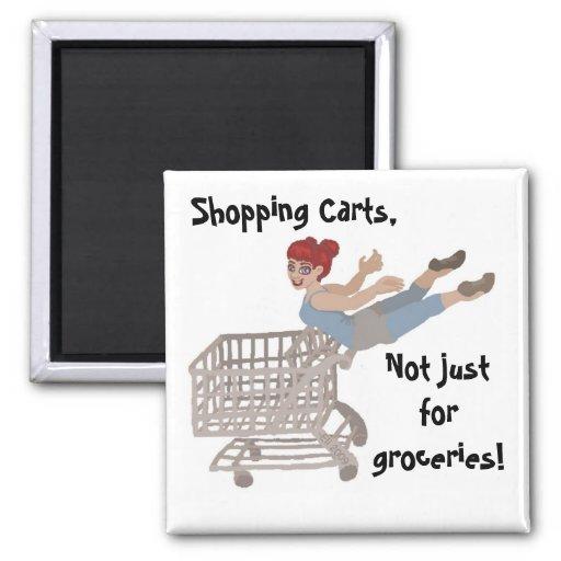 Shopping Carts Magnets