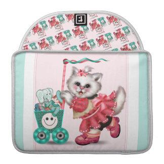 "SHOPPING  CAT  Rickshaw Sleeve Macbook Pro 13"" MacBook Pro Sleeve"