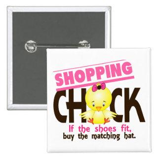 Shopping Chick 1 Pins