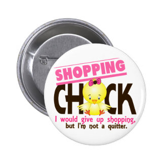 Shopping Chick 2 6 Cm Round Badge
