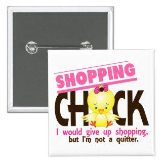 Shopping Chick 2 Pin