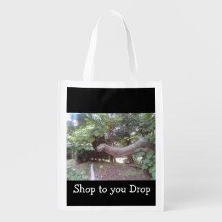 Shopping Dino Reusable Grocery Bag