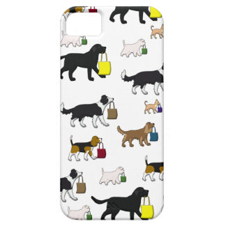 shopping dogs iPhone 5 case