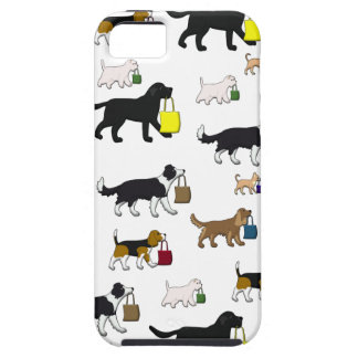 shopping dogs tough iPhone 5 case