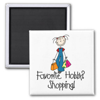 Shopping Favorite Hobby Magnet