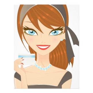 Shopping Girl 21.5 Cm X 28 Cm Flyer