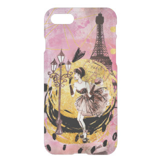 Shopping Girl in Paris iPhone 8/7 Case