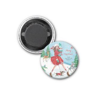 Shopping Girl - Magnet