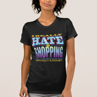 Shopping Hate Face T-Shirt