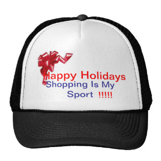 Shopping Holiday Trucker Hat