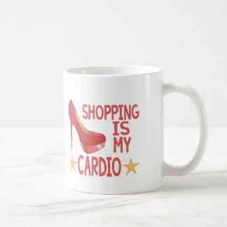 Shopping Is My Cardio 2 Coffee Mug
