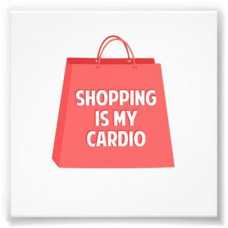 Shopping is my Cardio Photo Print