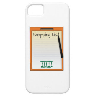 Shopping List Case For iPhone 5/5S