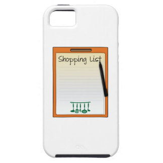 Shopping List iPhone 5 Cases