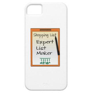 Shopping List expert list maker iPhone 5 Cover