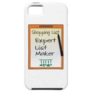 Shopping List expert list maker iPhone 5 Case