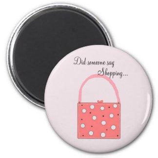 Shopping - magnet
