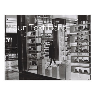 Shopping Mall Center Shoes Shop Postcard