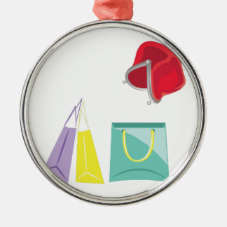 Shopping Metal Ornament