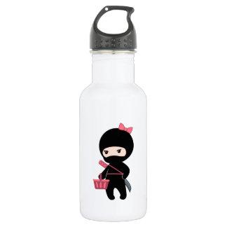 Shopping Ninja Girl 532 Ml Water Bottle