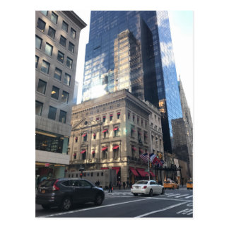 Shopping on Fifth Avenue Midtown New York City NYC Postcard