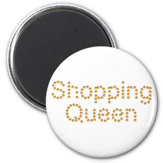 Shopping Queen 6 Cm Round Magnet