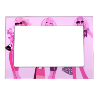 SHOPPING QUEEN COLLECTION PHOTO FRAME MAGNET