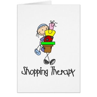 Shopping Therapy Card