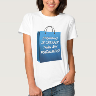 Shopping Therapy Funny T-Shirt