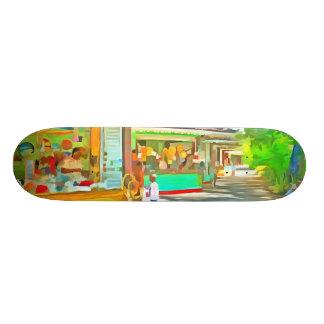 Shopping time skateboard